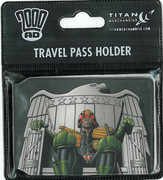 Travel Pass - Judge Dredd Throne