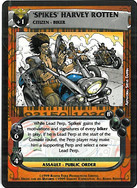 Dredd CCG: Perps - Spikes Harvey Rotten
