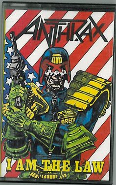 Anthrax: I am the Law Cassette