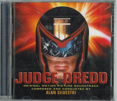 Judge Dredd 1995 Soundtrack CD Special Edition