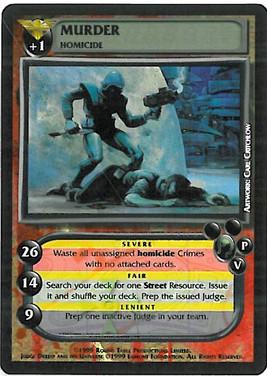 Dredd CCG: Crimes - Murder