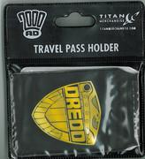 Travel Pass - Judge Dredd Badge
