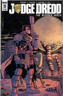 Judge Dredd Blessed Earth 5 Cover B
