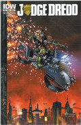 Judge Dredd 8 Cover B