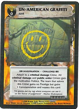 Dredd CCG: Events - Un-American Graffiti