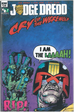 Judge Dredd: Cry of the Werewolf 1 Cover A