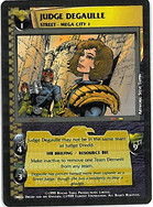 Dredd CCG: Judges - Judge Degaulle