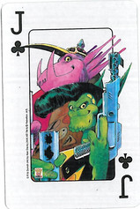 Playing Cards SFX: Jack of Clubs