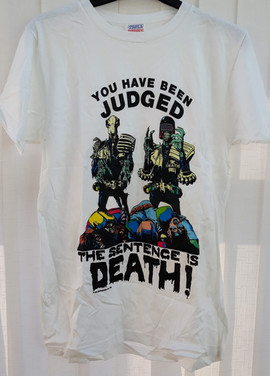 Judge Death and Judge Mortis T-Shirt
