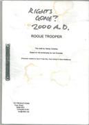 Unused Rogue Trooper Movie Script