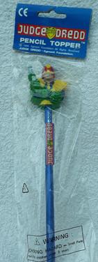 Judge Dredd Pencil Topper