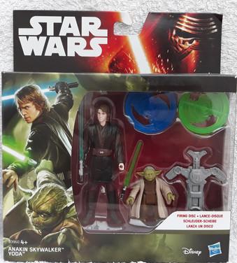 Double Pack: Anakin Skywalker & Yoda