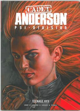 Judge Anderson: Cadet Anderson Teenage Kyxx