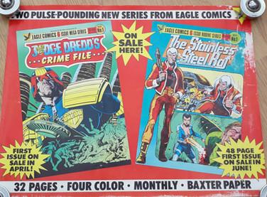 Eagle Comics Promo Poster