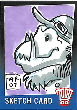 Strictly Ink Sketch Card Quich Amy Pronovost