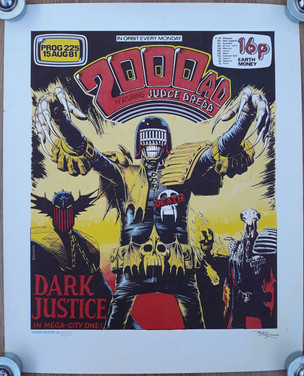 Tom Frame: Brian Bolland Dark Judge Print
