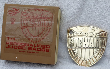 Planet Replicas: Custom Judge Badge