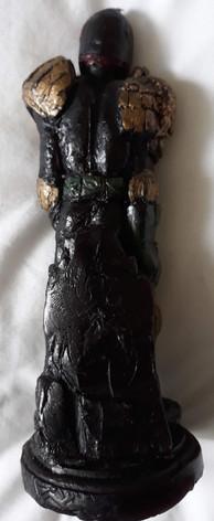 Judge Dredd Candle Rear