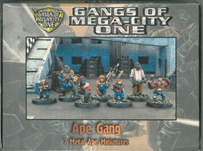 Mongoose: Gangs of MC1 Boxset Ape Gang