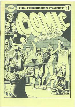 Forbidden Planet Comics Catalogue 1