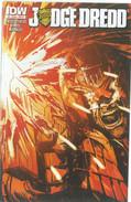 Judge Dredd 4 Cover B