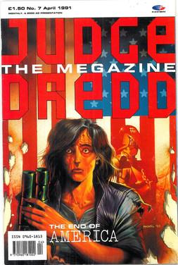 Judge Dredd Megazine Vol 1 Number 7