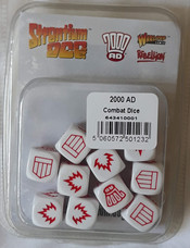 Warlord Blister: Strontium Dog Combat Dice