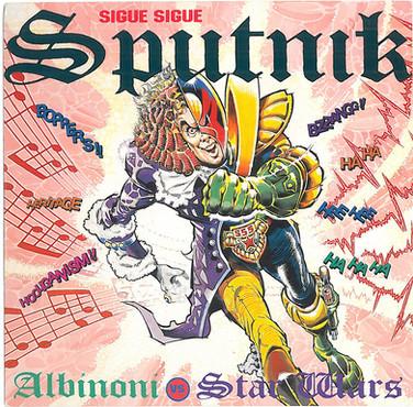 Sigue Sigue Sputnik: Albinoni vs Star Wars 7 Inch