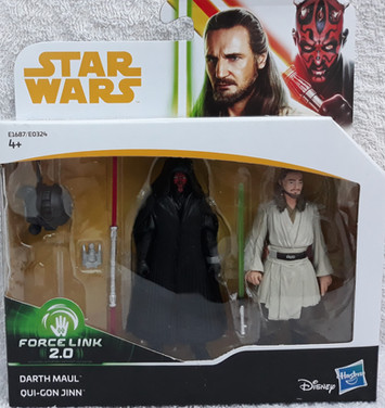 Twin Pack Qui-Gon & Darth Maul