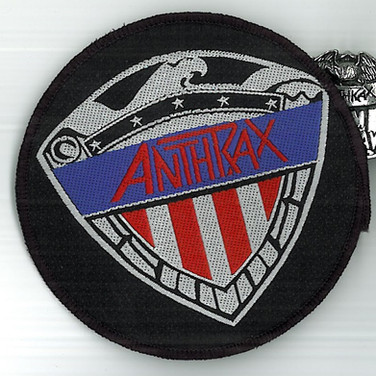 Anthrax Judge Shield Patch