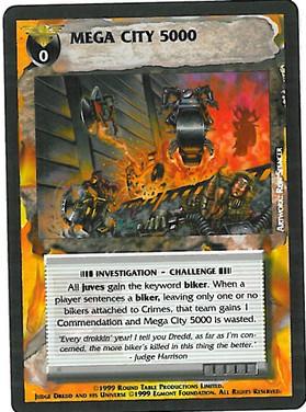 Dredd CCG: Events - Mega City 5000