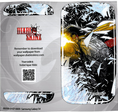 Diablo Skinz Judge Dredd Phone Cover