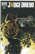 Judge Dredd 4 Cover A