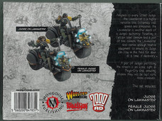 Mongoose: Boxset Justice Department Lawmaster Patrol Rear