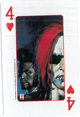 Playing Cards SFX: Four of Hearts