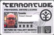 Planet Replicas Terrortube ID Card.