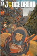 Judge Dredd Blessed Earth 2 Cover A