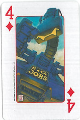 Playing Cards SFX: Four of Diamonds