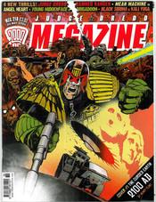 Judge Dredd Megazine 218 cover 1