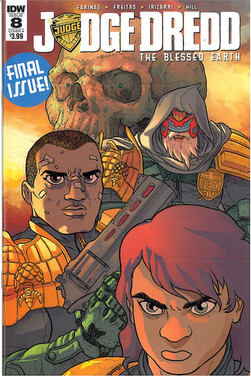 Judge Dredd Blessed Earth 8 Cover A