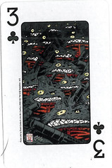 Playing Cards SFX: Three of Clubs