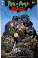 Rick and Morty: Dungeons and Dragons 2d