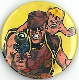 Sam Slade Badge Eighties