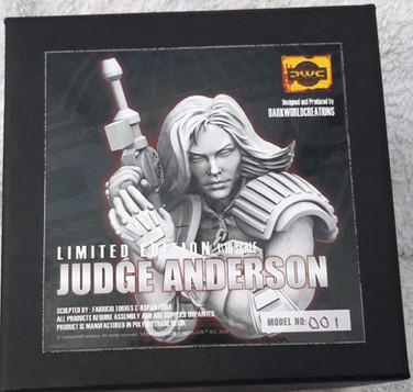 Dark World Creations: Judge Anderson Bust 1/10th