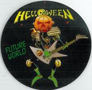 Helloween Future World Sticker