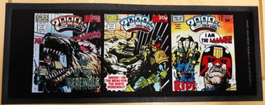 Judge Dredd Cry of the Werewolf Covers Bar Runner