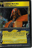 Dredd CCG: Judges - Judge McCall
