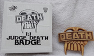 Planet Replicas: Judge Death Badge