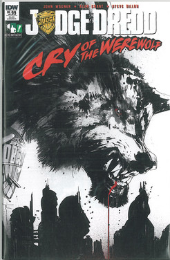 Judge Dredd: Cry of the Werewolf 1 Subscription Cover