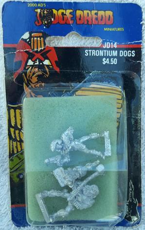 Citadel Blister Judge Dredd: JD14 Strontium Dogs